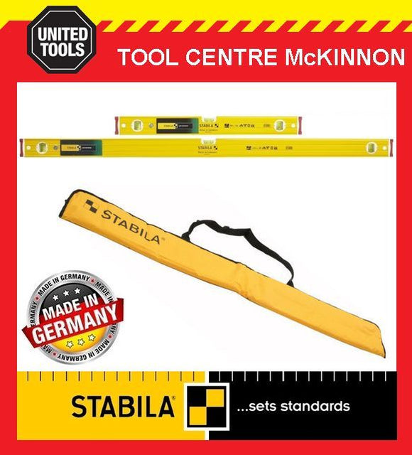STABILA 600mm / 2ft AND 1200mm / 4ft TYPE 96-2 SPIRIT LEVEL TWIN PACK WITH BAG