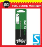 SUTTON VIPER 3.5mm HSS METRIC JOBBER DRILL BIT – WOOD, METAL & PLASTIC