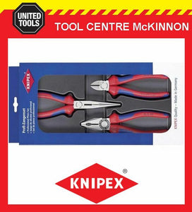 KNIPEX 00 20 11 ASSEMBLY PACK 3pce PRO PLIER SET – MADE IN GERMANY