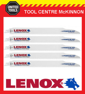 "5 x LENOX 12"" 106R DEMOLITION NAIL EMBEDDED WOOD RECIPROCATING / SABRE SAW BLADE"