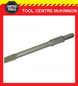 INDUSTRIAL JACK HAMMER CHISEL BIT 410mm x 30mm WITH 30mm-HEX SHANK