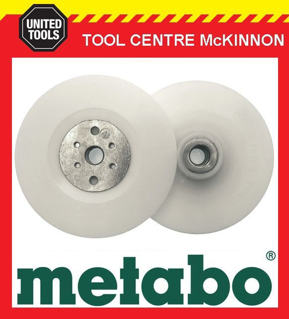 "METABO BACKING PAD AND LOCK NUT SET FOR SANDING – SUIT 9""/230mm ANGLE GRINDER"