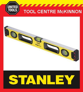 STANLEY 43-524 FATMAX BOX 2ft / 600mm 3-VIAL SPIRIT LEVEL