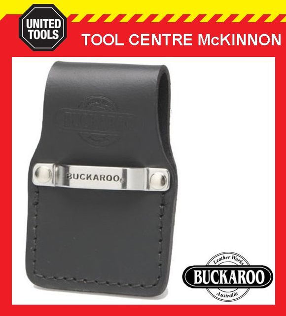 BUCKAROO CTC AUSTRALIAN MADE FIRST GRADE LEATHER TAPE MEASURE CLIP HOLDER