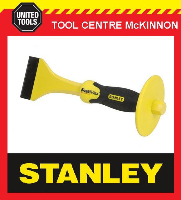 "STANLEY FATMAX 3"" (75mm) FLOORING CHISEL WITH HAND GUARD"