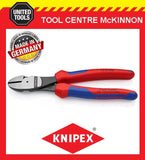 KNIPEX 74 02 200 200mm HIGH LEVERAGE SIDE CUTTING PLIERS – MADE IN GERMANY