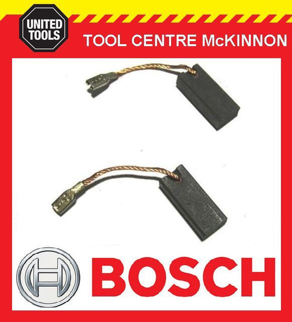 GENUINE BOSCH 1607014116 CARBON BRUSHES – SUIT GEX 150 ACE, GWS 7-115, 9-125 CS
