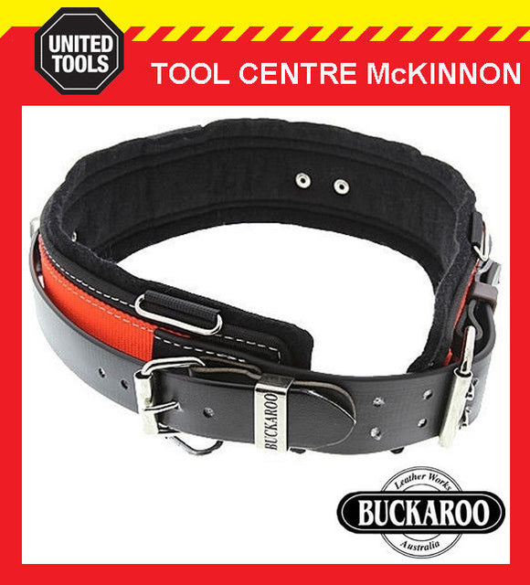 "BUCKAROO LEATHER TMAR38 38"" ALL ROUNDER NAIL BAG TOOL BELT – AUSTRALIAN MADE"