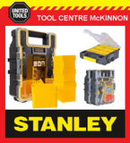 STANLEY FATMAX DEEP PRO CONNECTABLE 6 CUP FIXINGS / PARTS ORGANISER BOX