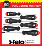 FELO 50796148 ERGONIC 6pce TAMPERPROOX TORX SCREWDRIVER SET – MADE IN GERMANY