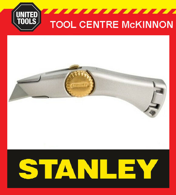 STANLEY TITAN 2-10-122 RETRACTABLE UTILITY KNIFE