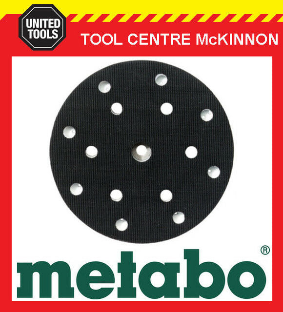 METABO SXE 450 DUO & TURBO TEC SANDER 150mm 6 or 8 HOLE REPLACEMENT BASE / PAD
