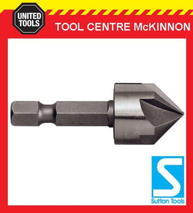 P&N BY SUTTON 10mm ROSE HEAD CRV COUNTERSINK FOR TIMBER, PLASTIC & ALUMINIUM