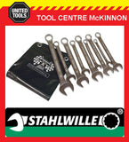 STAHLWILLE VP13/9 8–19mm 9pce METRIC COMBINATION SPANNER SET – 709734