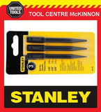 STANLEY 3pce HEX HEAD NAIL PUNCH SET