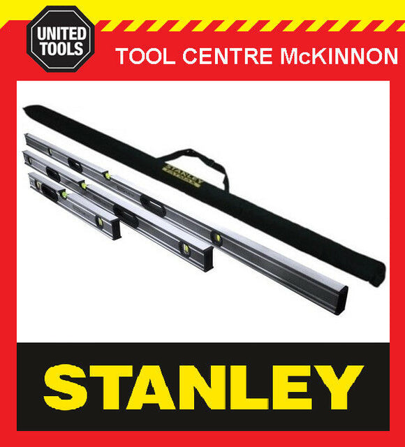STANLEY XTHT0-43119 FATMAX PRO BOX LEVEL TRIPLE PACK WITH BAG – 600 1200 & 1800