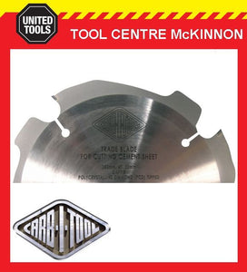 CARB-I-TOOL 160mm FIBRE CEMENT DIAMOND (PCD) SAW BLADE – SUIT FESTOOL TS55