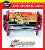 BONDHUS 13387 8pce METRIC T-HANDLE HEX ALLEN KEY SET – MADE IN USA