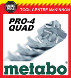 METABO 22.0 x 400 x 540mm SDS MAX PRO-4 QUAD HAMMER DRILL BIT – MADE IN GERMANY