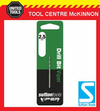 SUTTON VIPER 2.5mm HSS METRIC JOBBER DRILL BIT – WOOD, METAL & PLASTIC