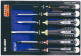 BAHCO ERGO BE-9881 6pce SCREWDRIVER SET – PHILLIPS AND SLOTTED