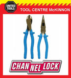 CHANNELLOCK / CHANNEL LOCK 1000V INSULATED 2pce PLIER SET– 3218 & 3238