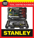 STANLEY 99-059 132 PIECE SOCKET, SPANNER, PLIER, ALLEN KEYS ETC TOOL SET / KIT