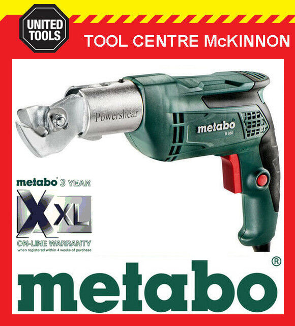 METABO B650 POWERSHEAR 650W SHEET METAL SHEARS / CUTTERS