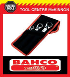 BAHCO S4RM/3T 3pce REVERSIBLE 8–19mm RATCHET RING SPANNER SET – 12 SIZES!