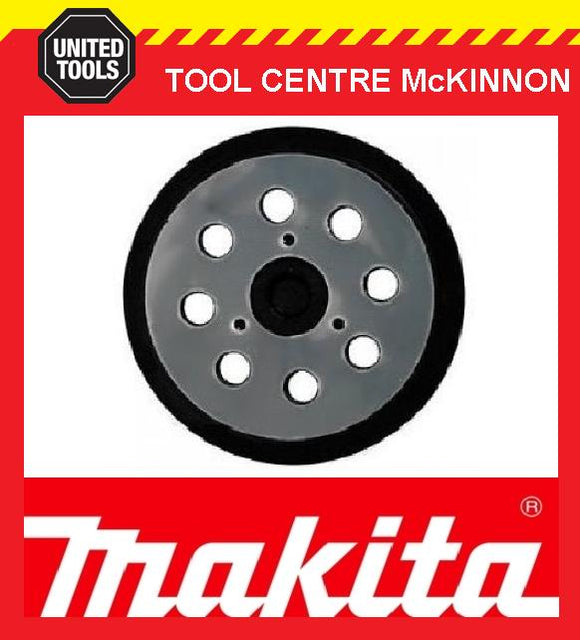 MAKITA 743081-8 125mm ORBITAL SANDER BASE / PAD SUIT MAKITA BO5021, BO5041, HITACHI SV13YA ETC