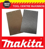 MAKITA 9403 BELT SANDER CORK RUBBER AND CARBON BASE PLATE