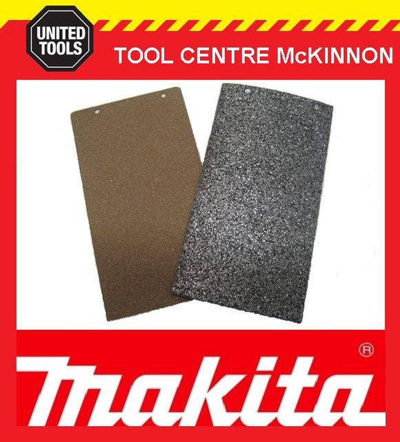 MAKITA 9924DB BELT SANDER CORK RUBBER AND CARBON BASE PLATE