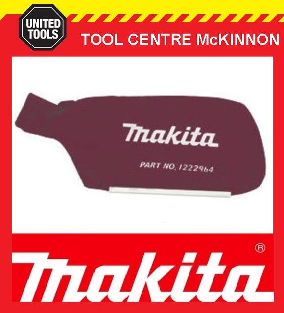 MAKITA 122296-4 9924DB & 9900B BELT SANDER CLOTH DUST BAG ASSEMBLY