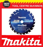MAKITA B-15104 BLUEMAK 160mm x 40 TEETH 20mm BORE TCT CIRCULAR SAW BLADE