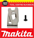 MAKITA 346317-0 BELT CLIP / HOOK & SCREW – SUITS LXT CORDLESS DRILLS AND IMPACT DRIVERS