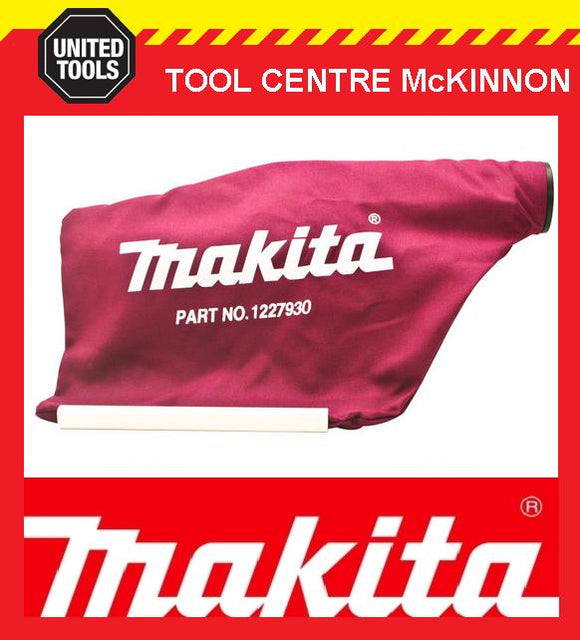 MAKITA 122793-0 KPO800 KPO810 DKP180Z PLANER CLOTH DUST BAG AND ADAPTER ASSEMBLY