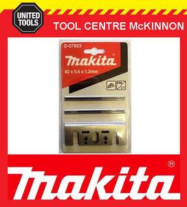 MAKITA D-07923 82mm TUNGSTEN CARBIDE PLANER BLADES CONVERSION KIT / REPLACEMENT HOLDERS AND BLADES