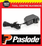 GENUINE PASLODE CHARGER 240V TRANSFORMER / POWER SUPPLY ADAPTER FOR LITHIUM GUNS