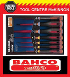 BAHCO ERGO BE-9888S 7pce 1000V VDE SCREWDRIVER SET – POZI AND SLOTTED