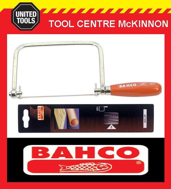BAHCO 301 COPING SAW WITH 5-PACK BLADES