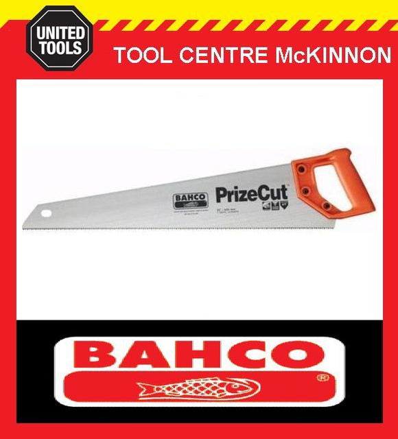 "BAHCO PRIZE CUT 22"" (550mm) HARDPOINT GENERAL PURPOSE HAND SAW"