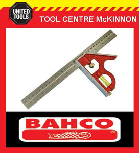 "BAHCO CS300 12"" / 300mm COMBINATION SQUARE WITH SCRIBER"