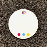 Blank Pronoun Button Badge