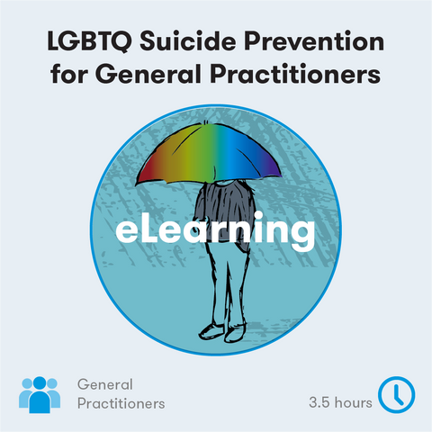 LGBTQ Suicide Prevention eLearning for GPs