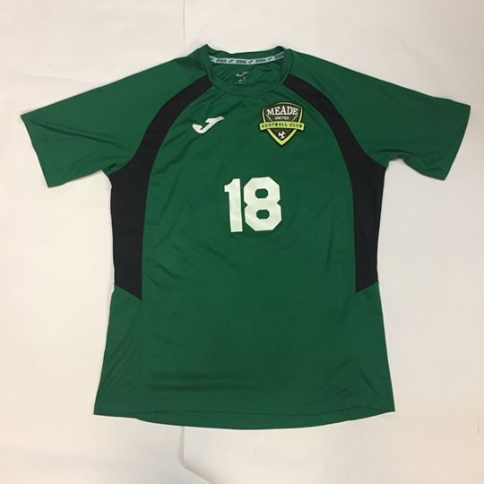 Meade United FC 15/16 16/17 Season Jersey