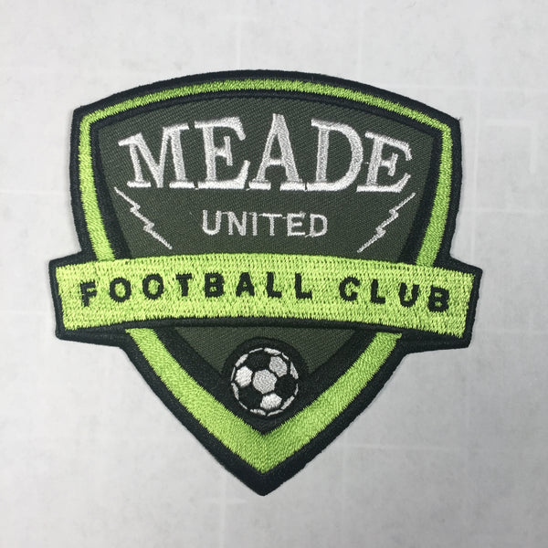 Meade United Football Club patch