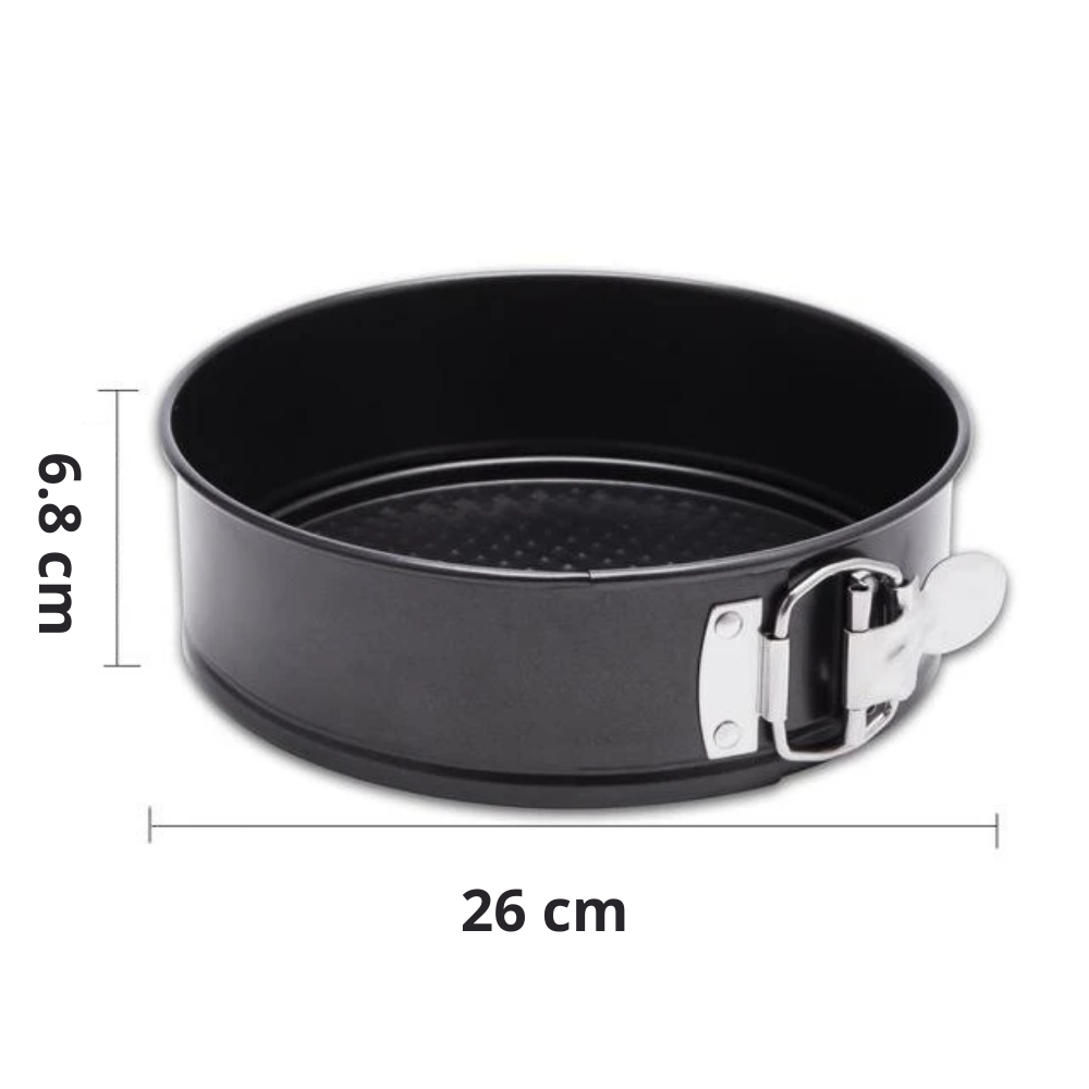 Non-stick Springform Cake Pans - 26cm Chef's Quality Baking Tin