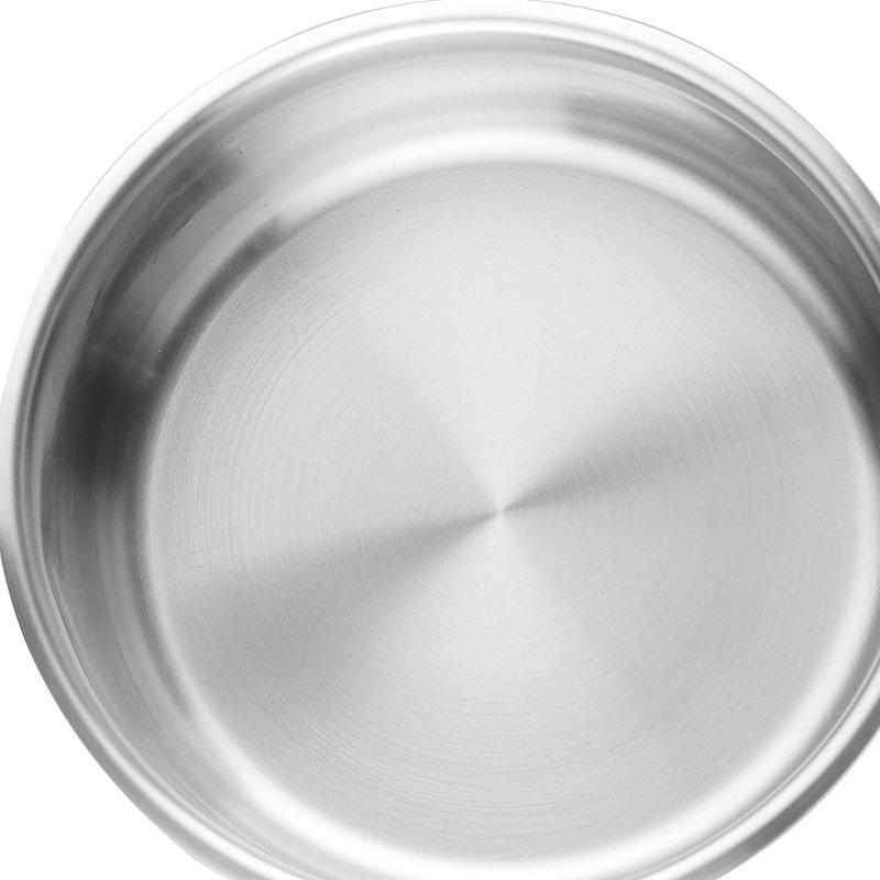24 cm Induction Casserole Pot With Lid - Stainless Steel-Stainless Steel Cookware-Chef's Quality Cookware