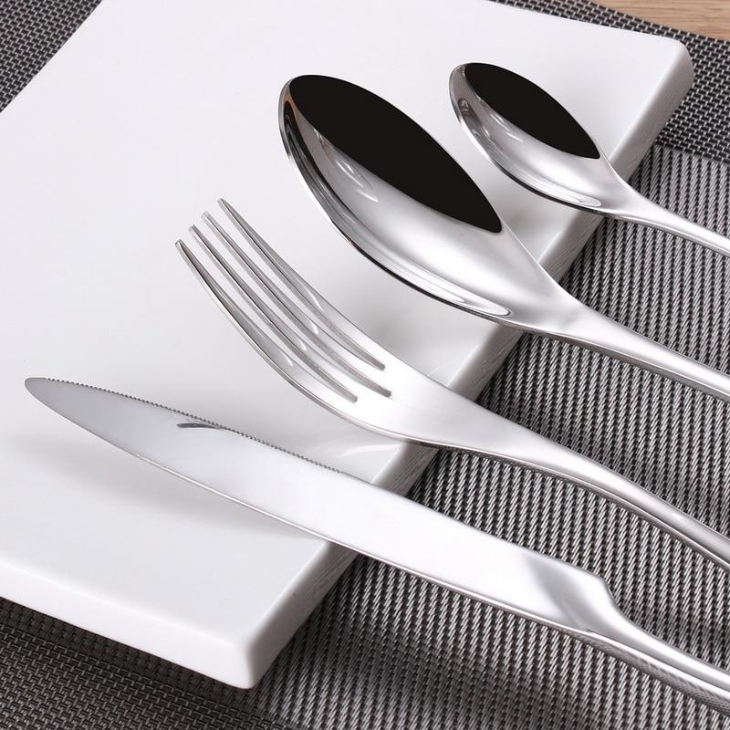 24 Piece Stainless Steel Cutlery Set-cutlery set-Chef's Quality Cookware
