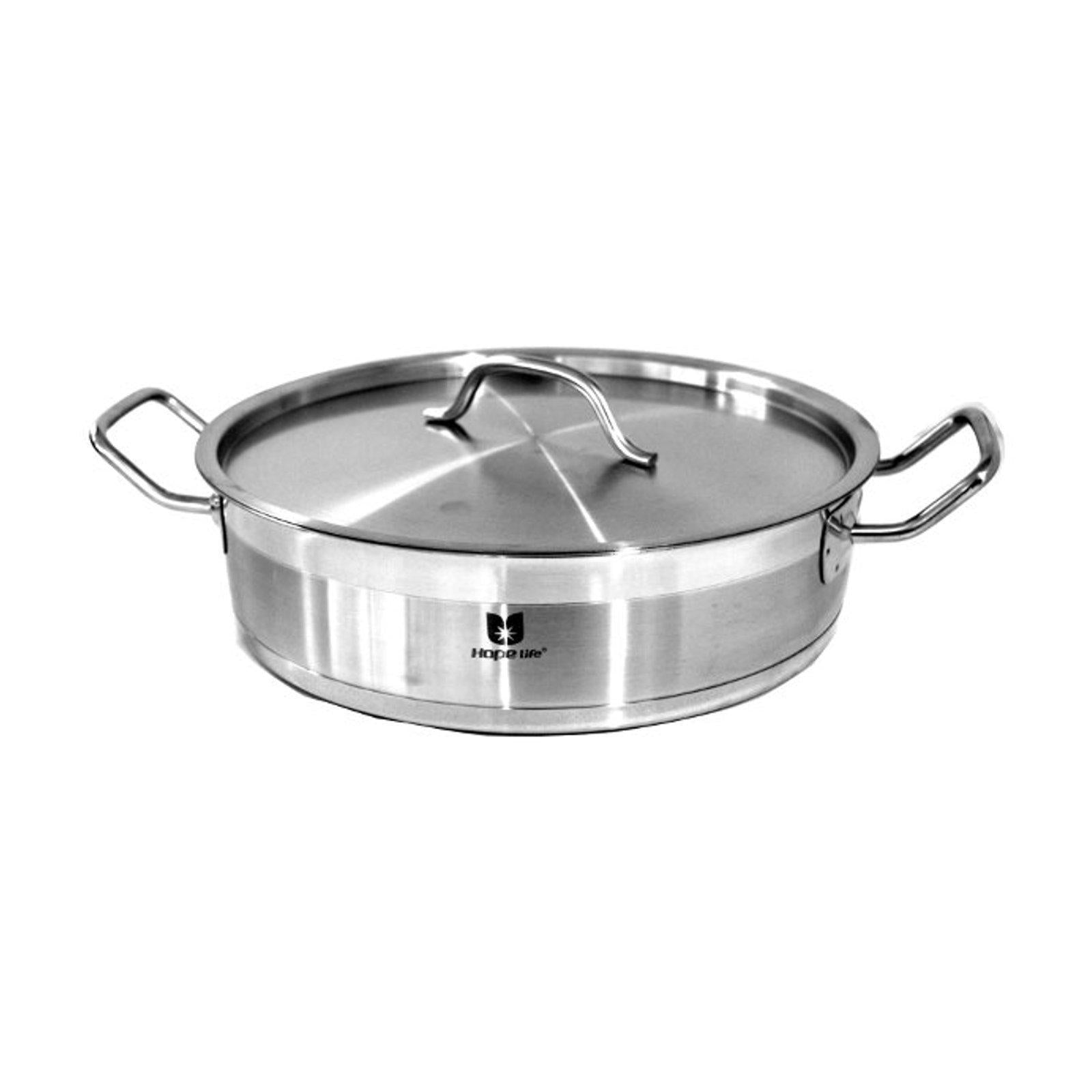 28 Cm Stainless Steel Induction Stew Pot-Stainless Steel Cookware-Chef's Quality Cookware
